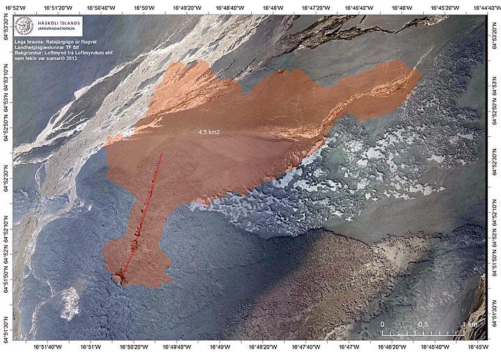 140901 Karte Holuhraun Ausdehnung