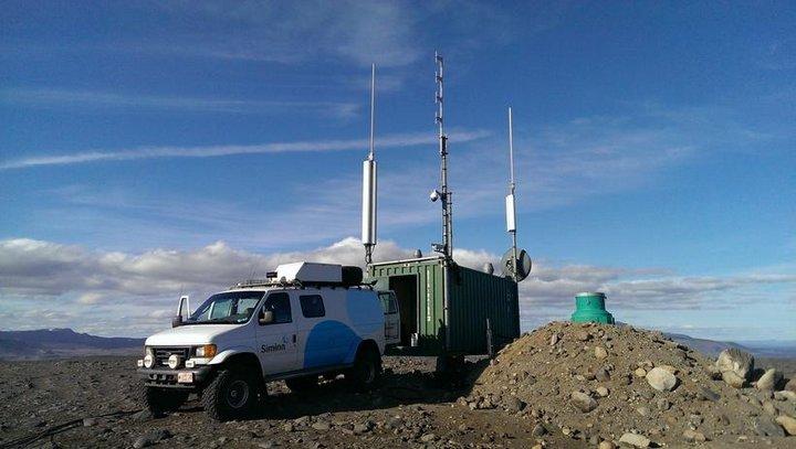 140910 Siminn mobile Basisstation