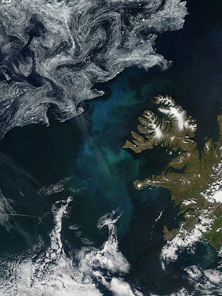 2012 Island algen eis