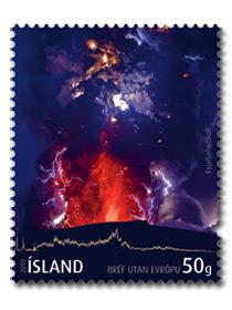 Vulkanbriefmarken