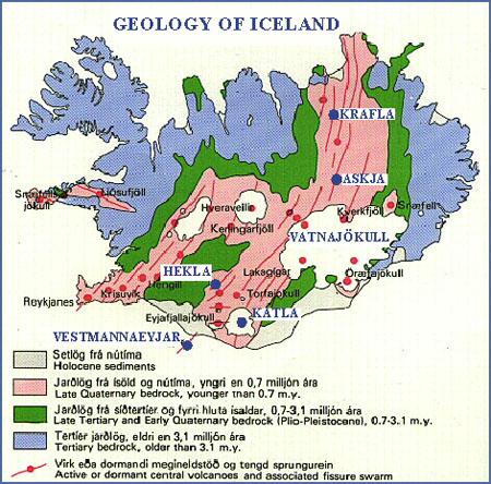 Iceland-geo map