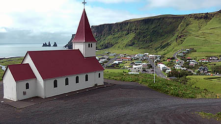 Island 18 Kirche Vik