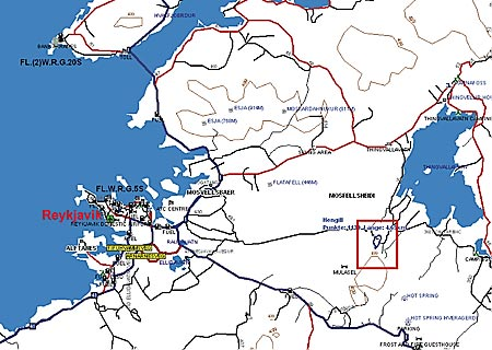 Karte-Hengill-uebersicht