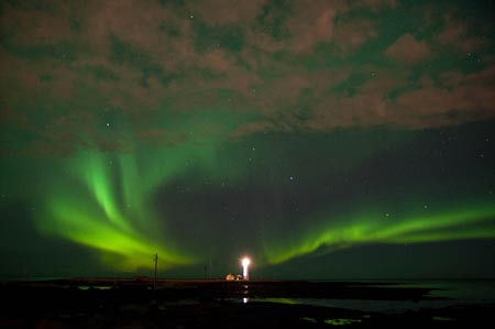 Nordlicht Seltjarnarnes 4