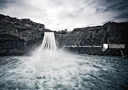 Sagenhaftes A4 buchwasserfall