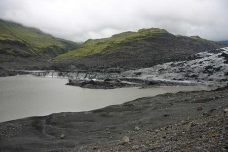 solheimajokull lagune